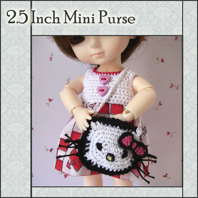 Hello Kitty-Style Mini Purse
